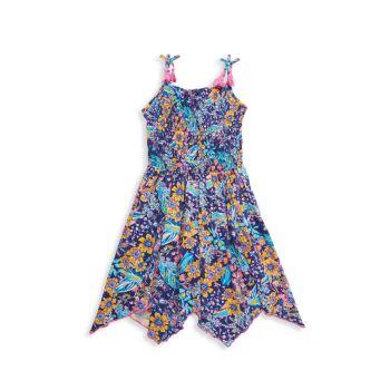 Платье для маленькой девочки с цветочным принтом BCBG Girls