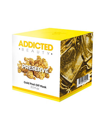 Золотая маска с отшелушивающим эффектом Addicted Beauty