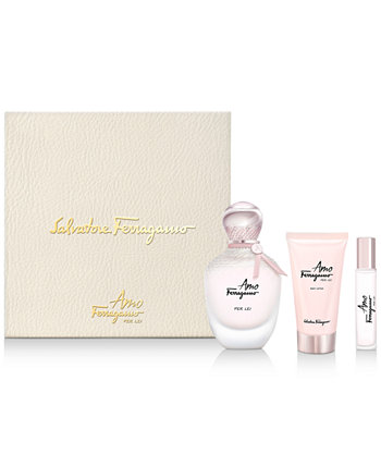 Salvatore 3-шт. Подарочный набор Amo Ferragamo Per Lei Eau de Parfum Ferragamo