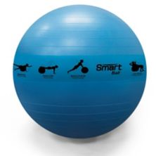 Prism Fitness 75cm/28in Smart Self-Guided Stability Exercise Medicine Ball, Blue PRISM FITNESS