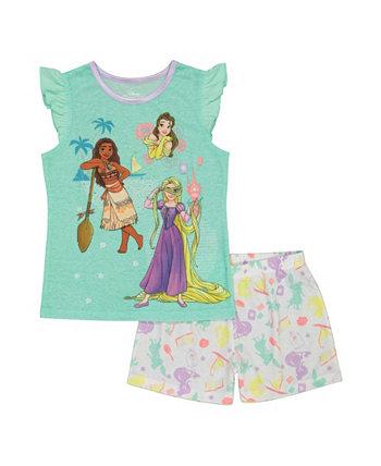 Пижама для маленьких девочек, комплект из 2 предметов Disney Princess