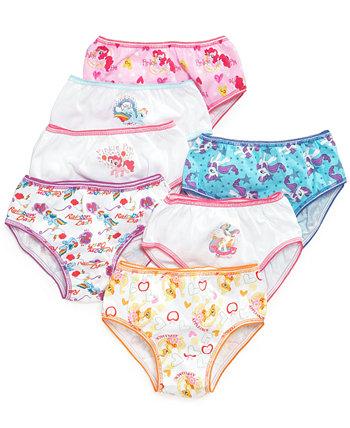 Хлопковое нижнее белье My Little Pony, набор из 7, для маленьких и больших девочек Disney
