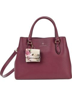 Сплошная сумка-портфель Kline с футляром для наушников Nanette Lepore