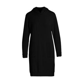 Платье френч терри с капюшоном Majestic Filatures