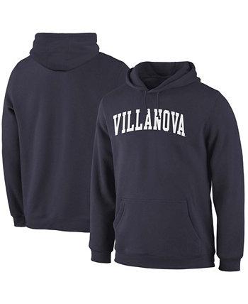 Толстовка с капюшоном мужская темно-синяя Villanova Wildcats Basic Arch Pullover Fanatics