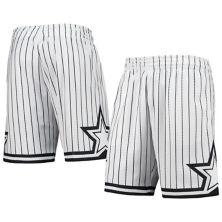 Men's Mitchell & Ness Orlando Magic Hardwood Classics White Out Swingman Shorts Unbranded