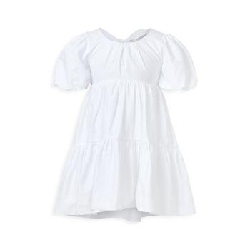 Кружевное многоярусное платье для девочек Bardot Junior