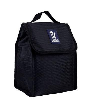 Rip-Stop черная сумка для обеда Wildkin
