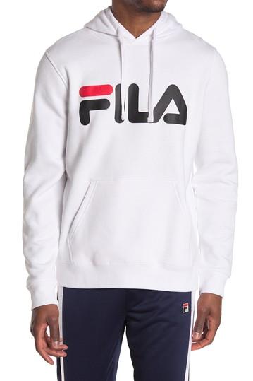 Худи на кулиске с графическим логотипом Fila
