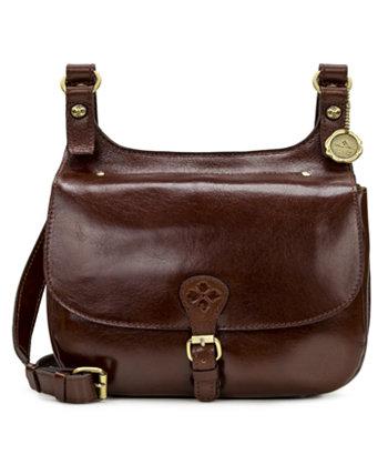 Кожаная седельная сумка London Patricia Nash