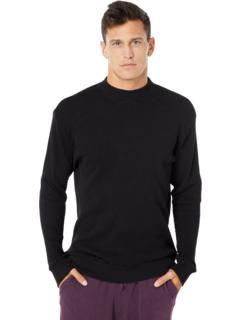 Пуловер с воротником-стойкой и вафельной вязкой Mod-o-doc