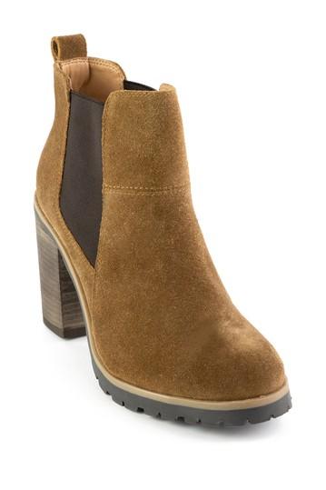 Замшевые ботинки челси на платформе Alicia Crevo