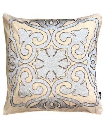 """Подушка для вышивания бусинами из дамасской стали, коллекция декоративных украшений, 20 """"X 20"""" Mod Lifestyles"""