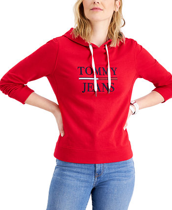 Толстовка с капюшоном и логотипом Tommy Jeans