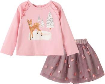 Зимняя рубашка из фольги и сетчатая юбка PEEK ESSENTIALS
