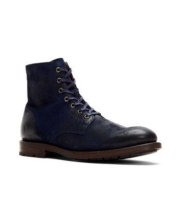 Мужские ботинки на шнуровке с внутренней молнией Frye