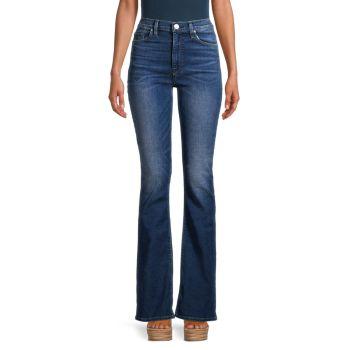 High-Rise Bootcut Jeans Hudson
