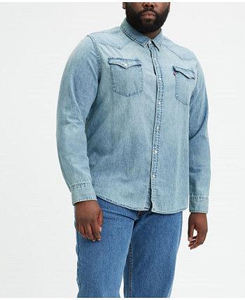 Мужская классическая рубашка в стиле вестерн для больших и высоких Levi's®