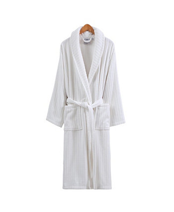 Бархатный банный халат унисекс Line Luxury OZAN PREMIUM HOME