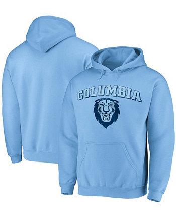 Голубая мужская толстовка с капюшоном Columbia University Lions Campus Pullover Fanatics
