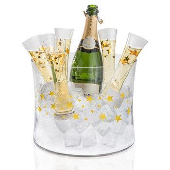 Ведерко для шампанского Gold Stars 7pc Set Artland