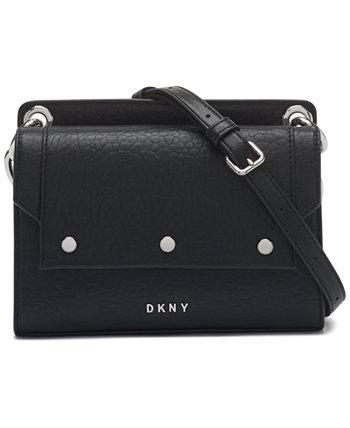 Кожаная сумка через плечо Gianna DKNY