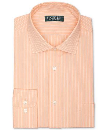 Мужская классическая рубашка в полоску стандартного кроя Ultraflex в эластичную полоску без железа Ralph Lauren