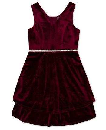 Платье для больших девочек с драгоценными камнями на талии Speechless