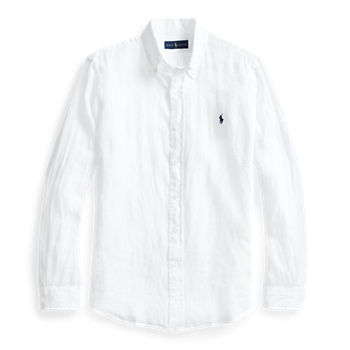 Классическая льняная рубашка Ralph Lauren