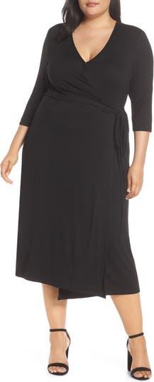 Миди-платье Penni с запахом и цветочным принтом LEMON TART