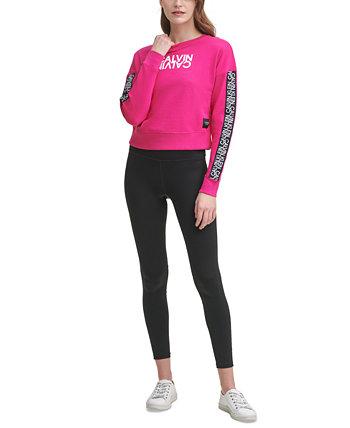 Толстовка Active с логотипом Mirror Calvin Klein