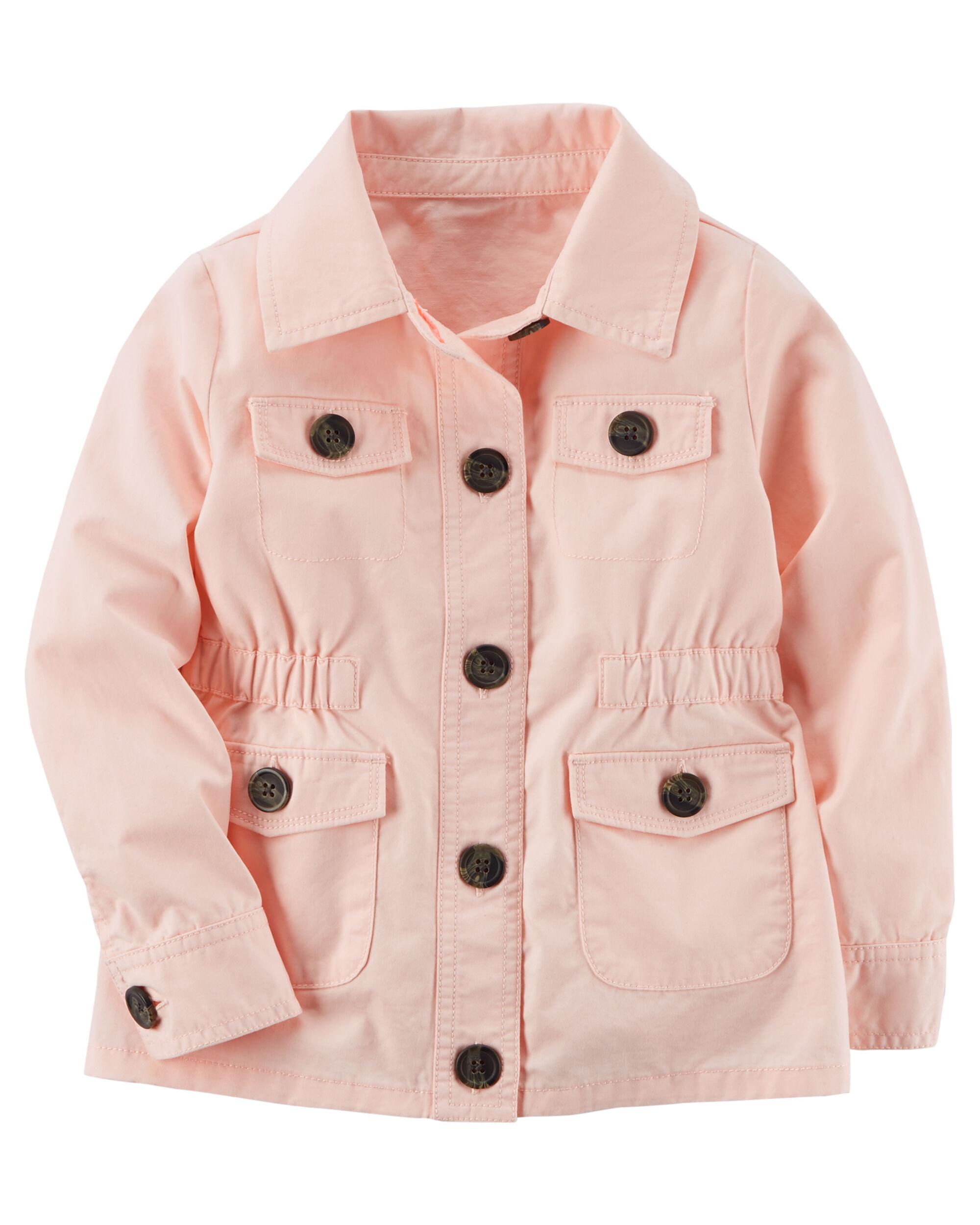 Карточная куртка из твила Carters