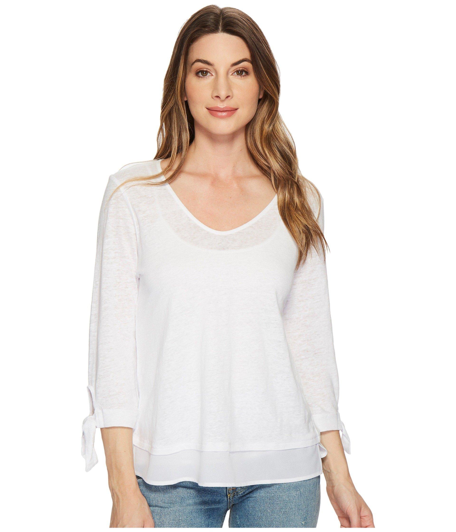 Sylvie Tie Рукавная футболка Sanctuary