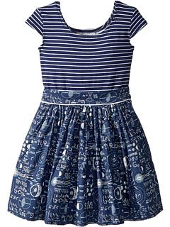 Платье Maddy Mathematician (для малышей / маленьких детей) Fiveloaves twofish