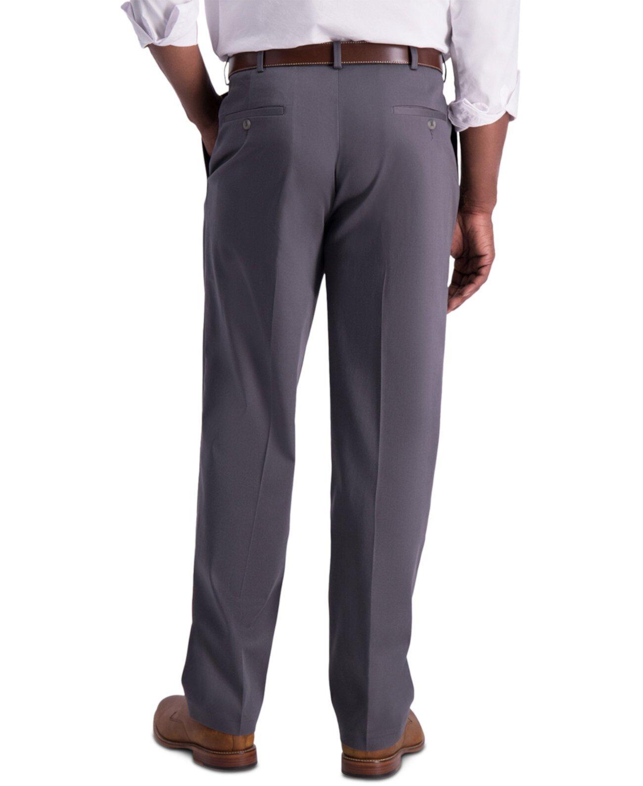 Мужские утюги с подогревом, хаки, классические брюки HAGGAR