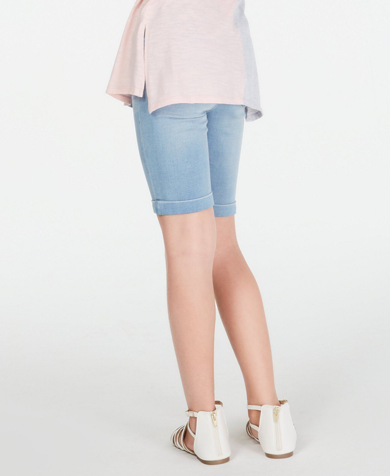 Джинсовые шорты-бермуды Big Girls, созданные для Macy's Epic Threads