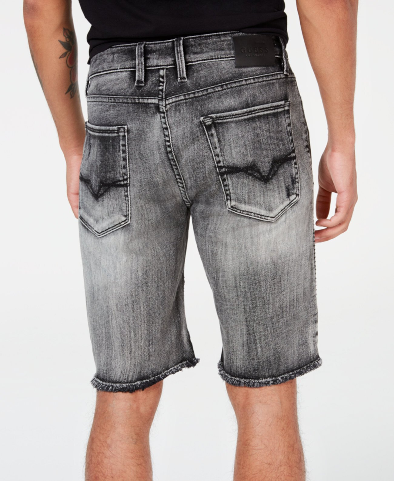 Мужские шорты Slim-Fit Moto GUESS