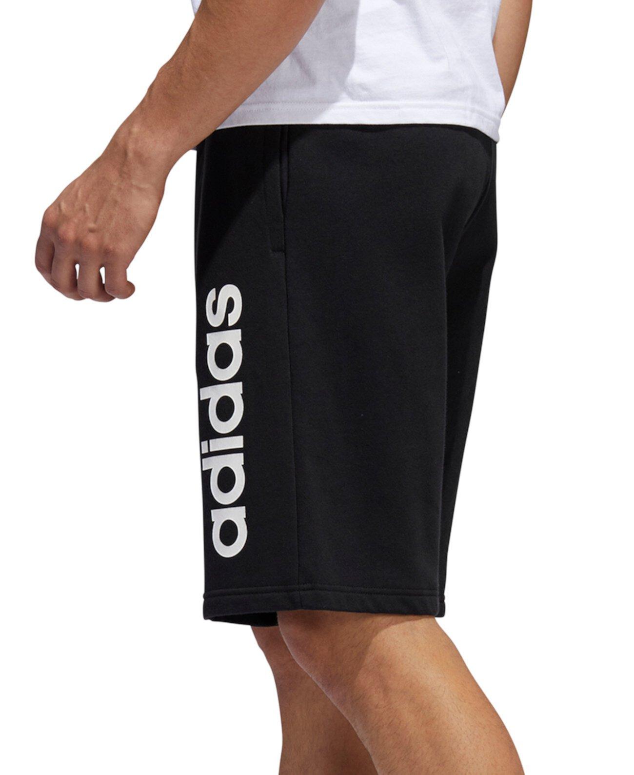"""Мужские линейные шорты с логотипом 11 """" Adidas"""