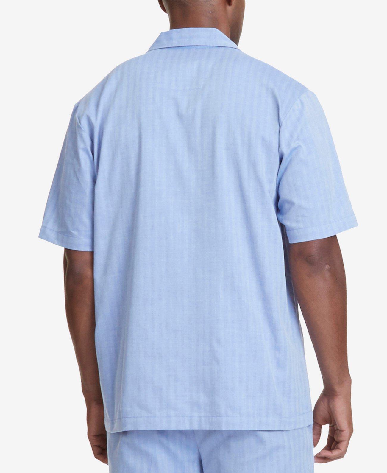 """Мужская пижамная рубашка Comfort с рисунком """"елочка"""" Nautica"""