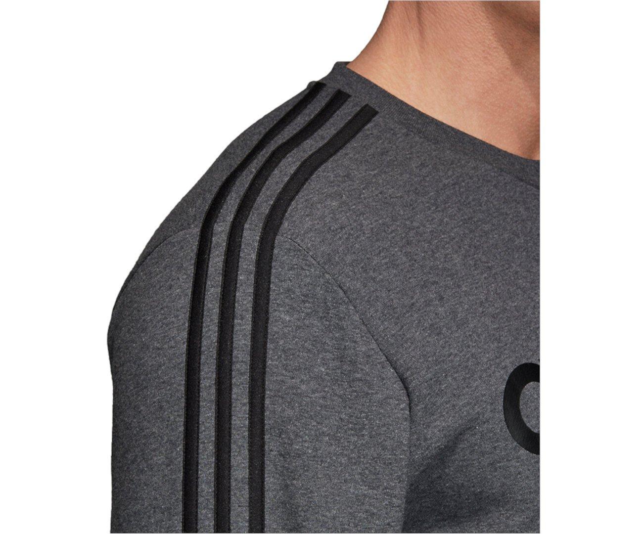 Мужская базовая модель с логотипом из флиса с 3 полосками Adidas