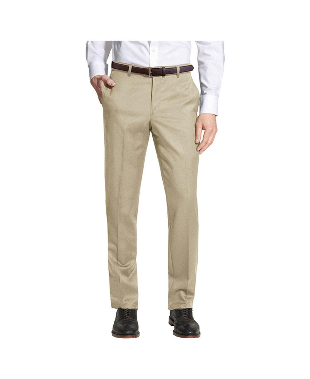 Enrico Bertucci Мужские облегающие классические брюки с поясом Galaxy By Harvic