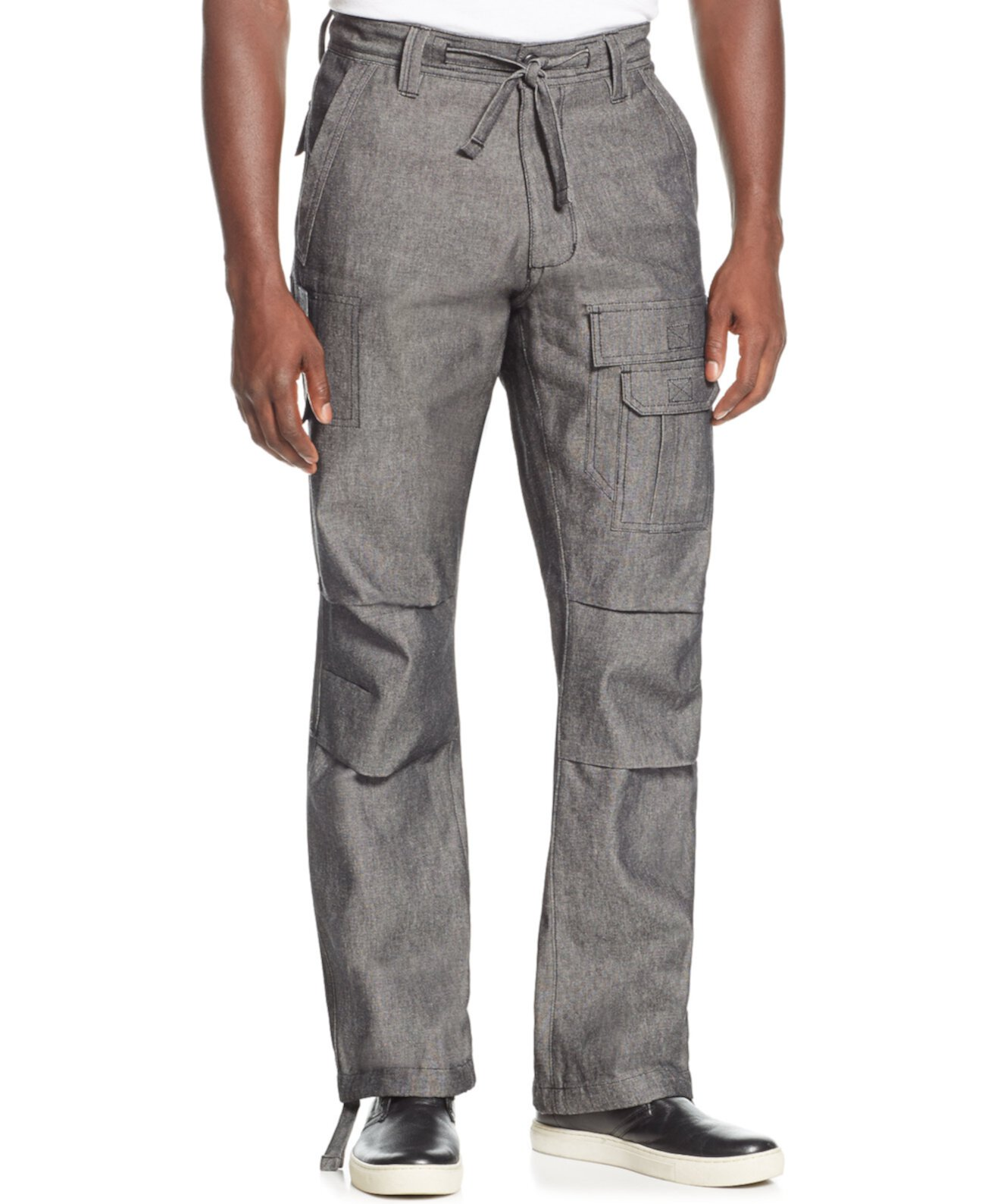 Мужские брюки-карго Pleat Pocket, созданные для Macy's Sean John