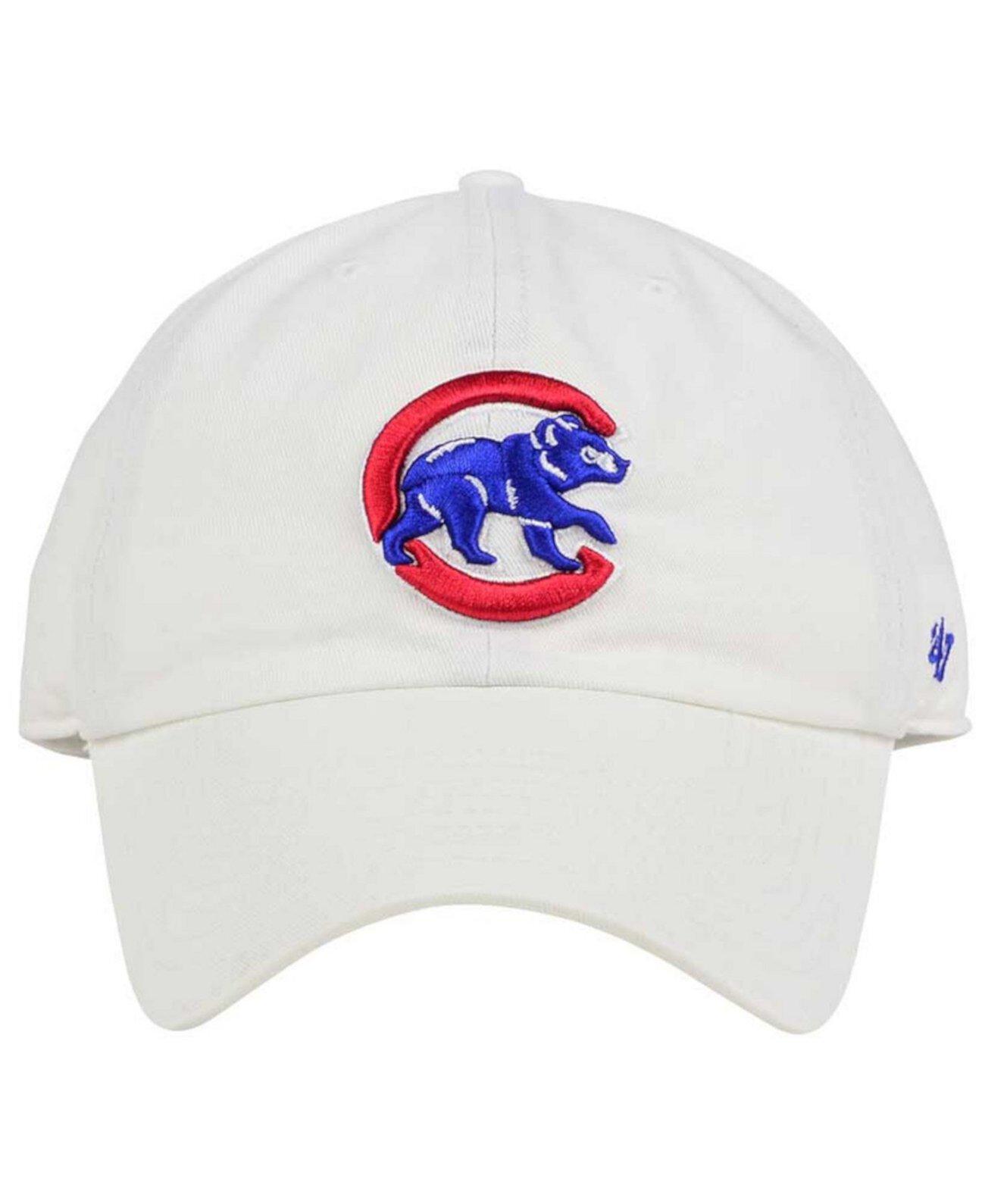 Чикаго Кабс Белая шапочка для чистки '47 Brand