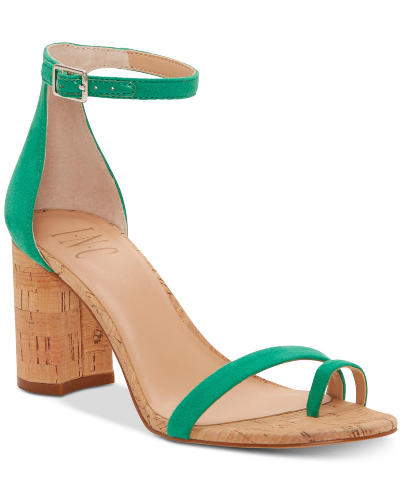 I.N.C. Женские сандалии на каблуке Wanada Toe-Ring, созданные для Macy's INC International Concepts