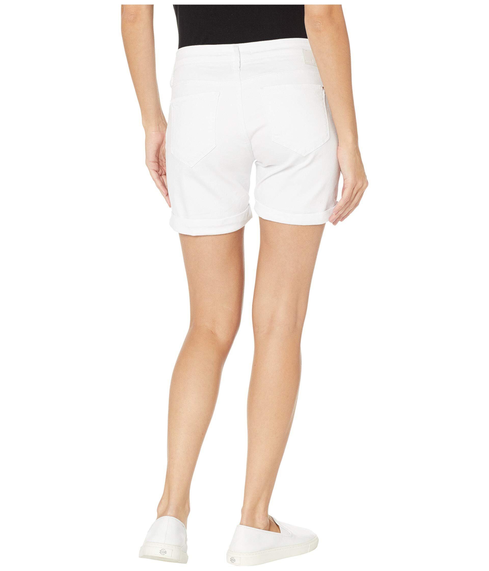 Шорты-бойфренды Pixie из белого трибека Mavi Jeans