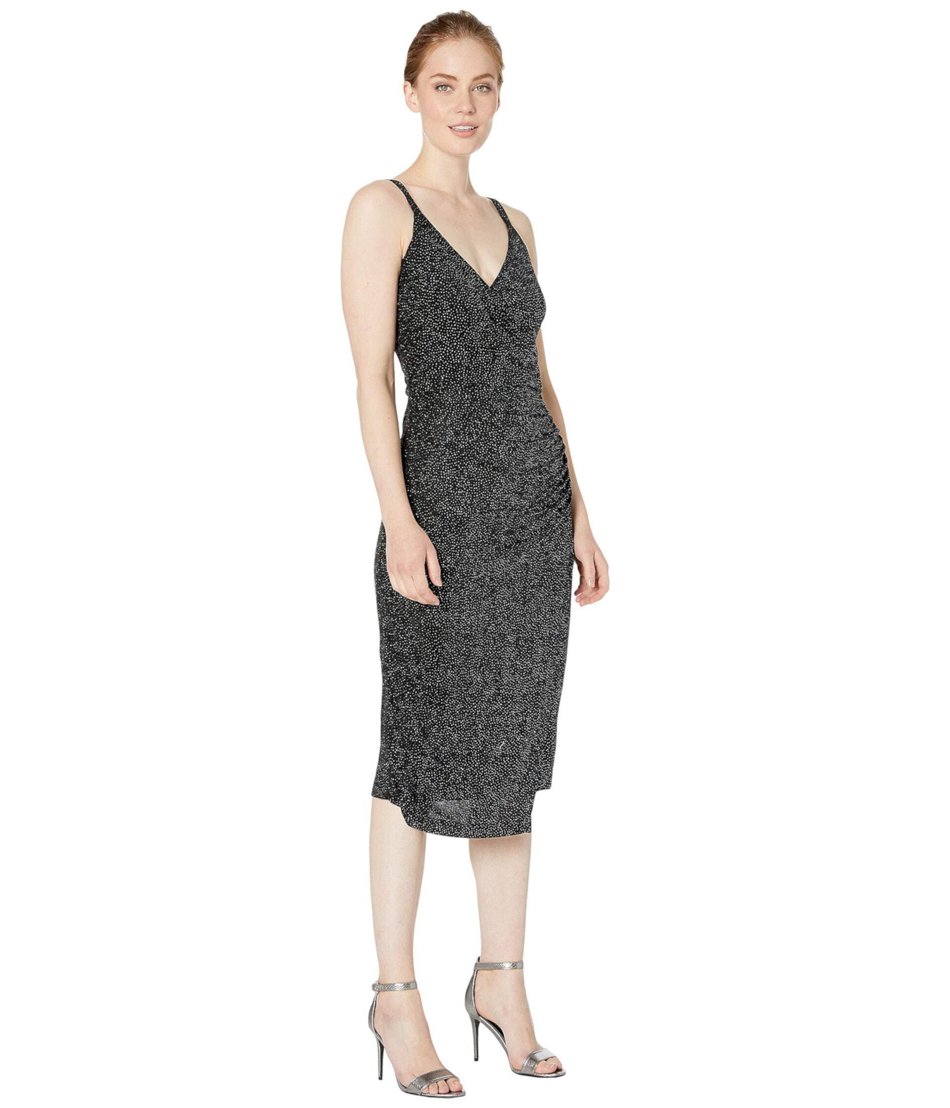 Платье с запахом London Times