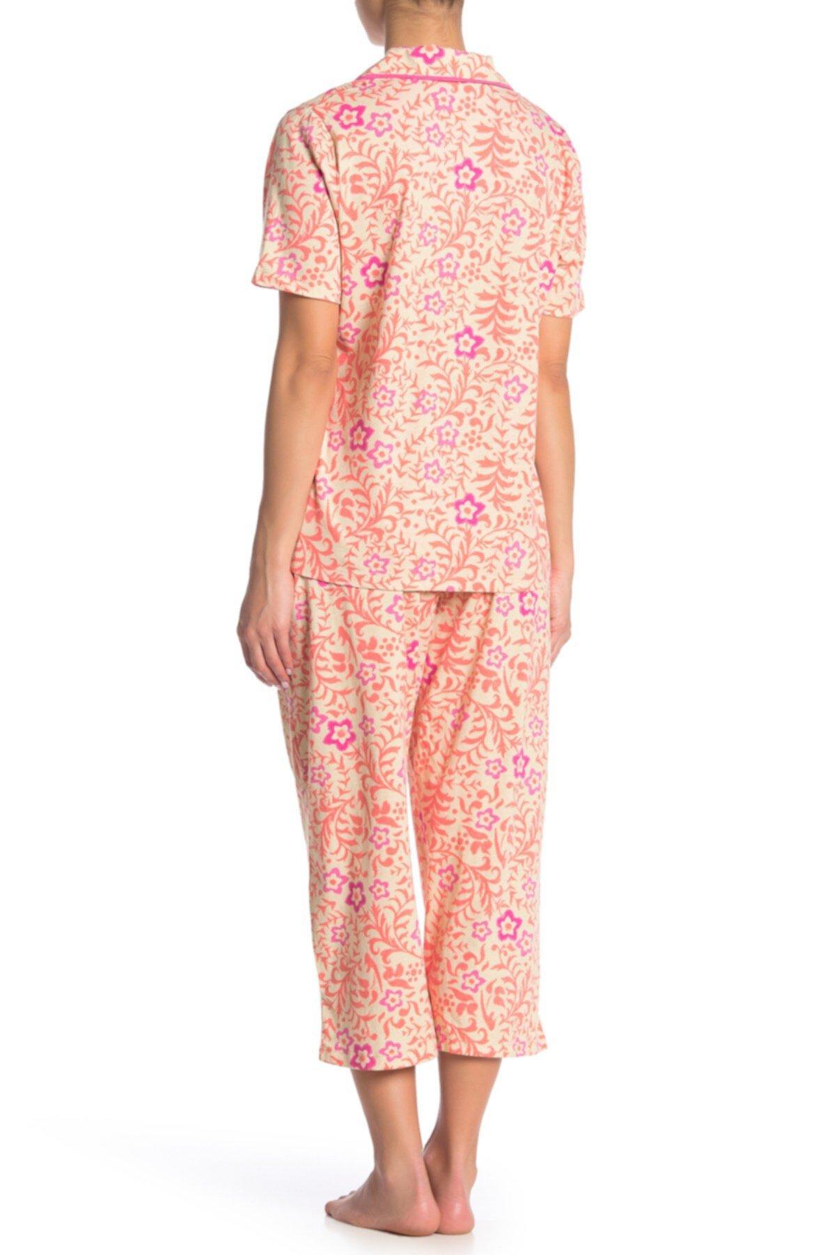 Рубашка и брюки из 2 шт. С цветочным принтом HUE