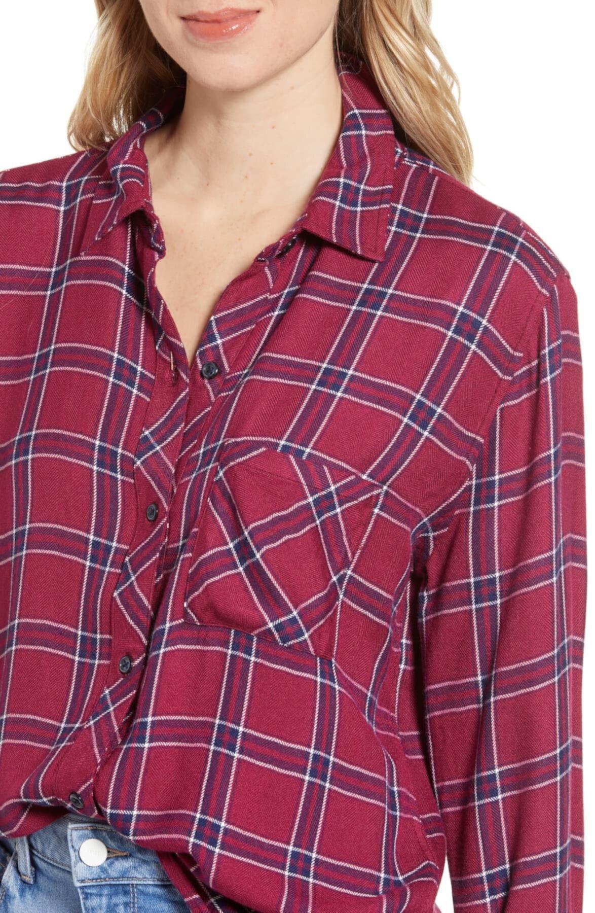 Рубашка в клетку охотника Rails