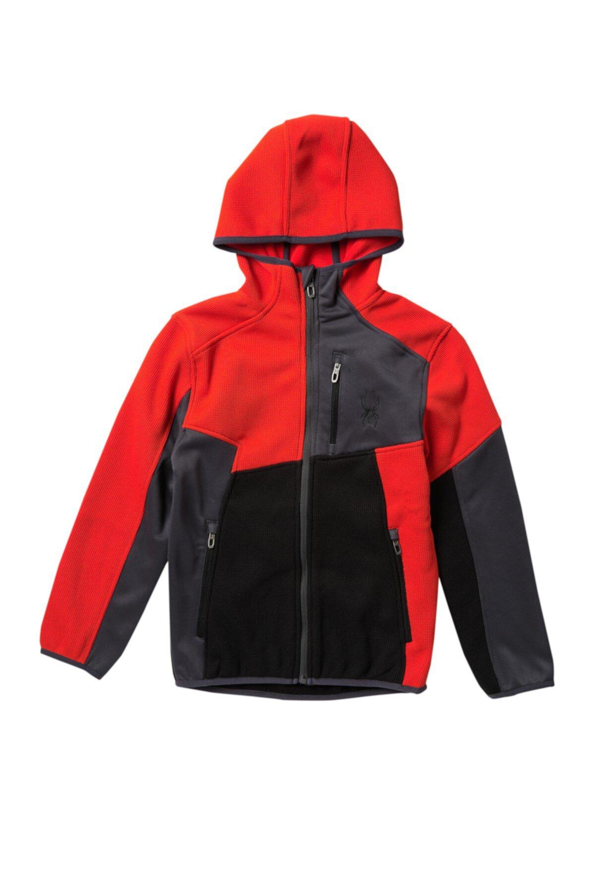 Куртка с цветными блоками (Big Boys) Spyder
