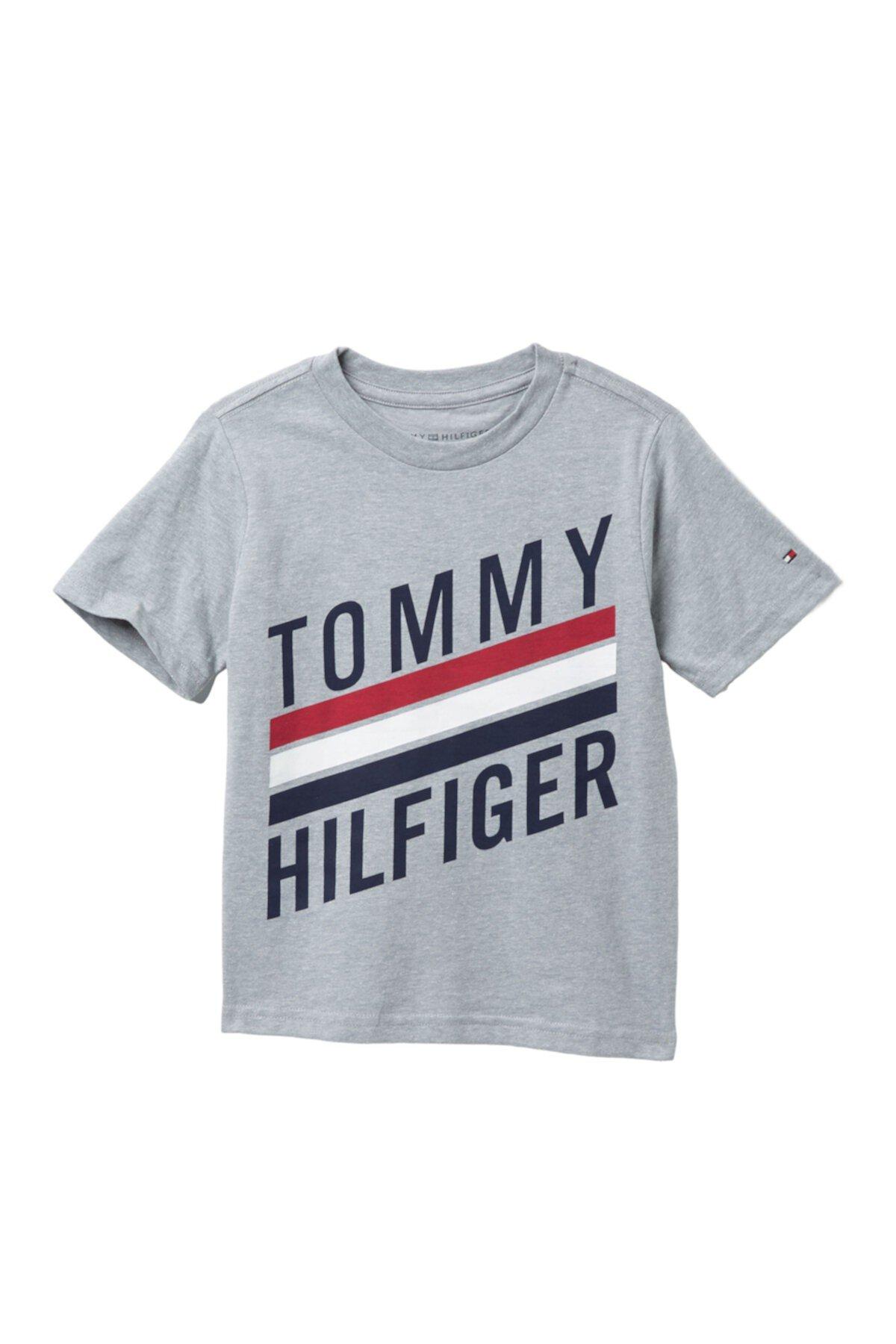 Футболка с коротким рукавом (Маленькие мальчики) Tommy Hilfiger